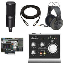 Audient iD4 USB Interface Audio Technica AT2020 Recording Bundle w/Pro Tools 1st