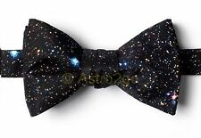 SPACED OUT--STARS SPACE ASTRONOMY SCIENCE Wild Ties Microfiber Bow Tie NEW!