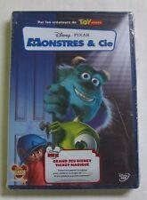 DVD MONSTRES & Cie - DISNEY PIXAR - NEUF