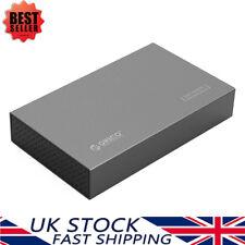ORICO Aluminum 3.5'' Inch SATA USB 3.0 HDD/SSD Hard Drive Disk Enclosure Caddy