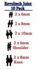 Revoltech Ball Joint 10 Pack Lot Replacement Fix Shoulder Knee Action Figure