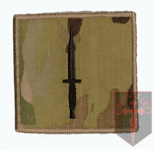 Multicam MTP 3 Commando Brigade Hook (sticky) Backed Patch ( Royal Marines