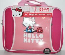 "HELLO KITTY LAPTOP/NETBOOK SLEEVE UP TO 12"" DISPLAY SIZE NEOPRENE"
