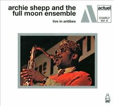 ARCHIE SHEPP & THE FULL MOON ENSEMBLE Live In Antibes CD x2 NEW RE Charly 651 X