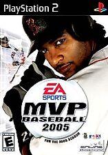 MVP Baseball 2005, Very Good PlayStation2, Playstation 2 Video Games