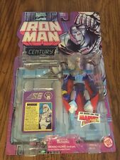 Marvel Comics - Iron Man Century with Cape and Battle Staff - ToyBiz 1995