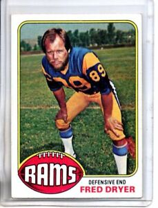 1976 TOPPS FRED DRYER (EX/MT) <>