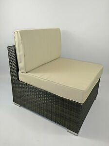REPLACMENT RATTAN CUSHIONS PADS GARDEN PATIO FURNITURE FOR SOFA, DINING, CORNER