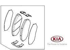 Genuine KIA SORENTO 2010-2013 front PASTIGLIE 581012pa70