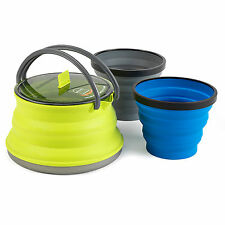 Sea to Summit X-set 11 Includes One Lime 1.3l X-pot Kettle and 2 X Cups