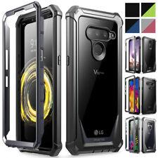 LG Stylo 4/LG V50 ThinQ 5G resistente caso claro , Poetic ® Shockproof Cubierta de parachoques