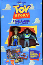Toy Story Read Along Play Pack Cassette Book Buzz Lightyear and Woody NEW Sealed
