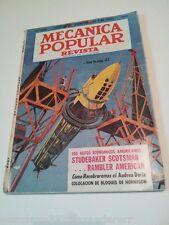 Mecanica Popular Revista Mechanics Magazine Volumen 110 Ternologia Modernidad