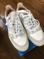 Adidas Supercourt Trainers Size UK 8.5 US 9 White Originals New In Box