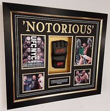 *** RARE CONOR MCGREGOR SIGNED GLOVE Autograph Display *** 2 WEIGHT CHAMPION