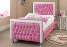 Pink Standard Bed Frames Bases for Children