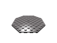 2 x [neu] LEGO Platte 10 x 10 oktagonal - beige - 89523