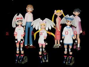 Bandai Alien Nine gashapon figure (full set of 6 figures)