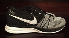 DS Nike Flyknit Trainer + (2012) Black/White 532984 010 Padded Size 9