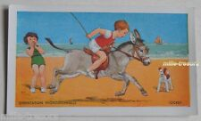 Image CHROMO ORIENTATION PROFESSIONNELLE : Jockey - (Ane - Plage...)