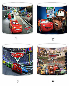 Disney Cars Lampshade Ideal To Match Bedding Duvets Curtains Cushion Covers