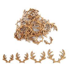 Reindeer Antler christmas MDF Craft Shapes Wooden Blank Decoration Embellishment