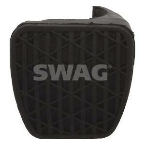 SWAG Brake Pedal Pad 99 90 7534 fits Smart Roadster 0.7 (452) 45kw, 0.7 (452)...