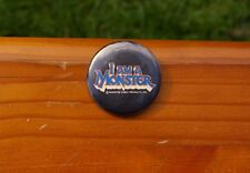 "I Am A Monster Pin Monster Cable Products, Inc. 1 3/4"" Lapel Pin Pinback Button"