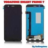 DISPLAY LCD+ TOUCH SCREEN+ ATTREZZI per VODAFONE SMART PRIME 7 VDF600 VETRO NERO