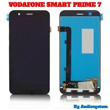 DISPLAY LCD+ TOUCH SCREEN+ ATTREZZI per VODAFONE SMART PRIME 7 VDF600 VETRO NERO