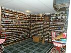 Beer bottle collection, 1000+ EMPTY bottles. Your wife already told you NO!