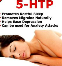 5-HTP 100mg 120 Tablets Antidepressant Anxiety Insomnia Supplement (Lindens)
