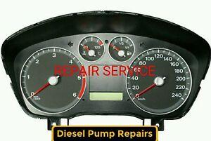 REPAIR SERVICE Ford Focus C-max,S-MAX, Cluster, Instrument, Clocks 2004-07