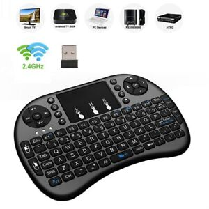 2.4GHz Wireless Keyboard Air Mouse With Touchpad For Android TV BOX Mini PC 18