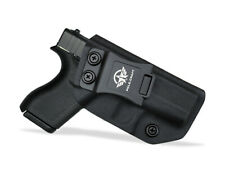 Kydex IWB Gun Holster Fits: Glock 42 Inside Waistband Concealed Gun Case Carry