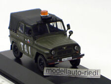 IST 047 IXO 1:43 UAZ 469 Czechoslovakia Airfield Army 2003 Militär CZ