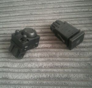 VW GOLF MK 3 ELECTRIC MIRROR SWITCH 1H2959565 or HEATED REAR SCREEN 1H0959621B