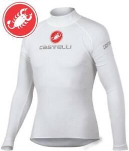 Castelli Men's Long Sleeve Base Layer Uno Plasma Size XL