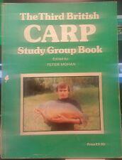 RARE - The Third British Carp Study Group Book - 1ST EDITION 1980