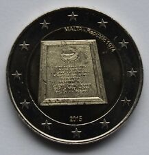 MALTA 2 € commemorative euro coin 2015 - Proclamation of the Republic of Malta