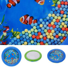 Ocean Wave Bead Drum Gentle Sea Sound Musical Educational Toy Funny Game Gift YI
