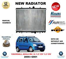FOR VAUXHALL AGILA MK I A 1.0 12V 1.2 16V 2000->2001 NEW RADIATOR * OE QUALITY *