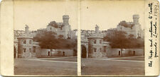 THE KEEP & ENTRANCE LINCOLN CASTLE LINCONSHIRE ENGLAND STEREOVIEW