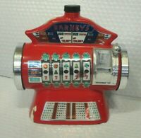 BARNEY'S SLOT MACHINE CASINO DECANTER VINTAGE ~ SEE DETAILS