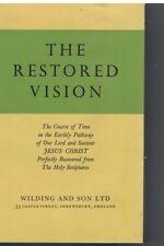 The Restored Vision A E Ware Hardback