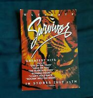 2-Ultimate Survivor Press Card Band handed Out on Tour CD Release on 9/13/04
