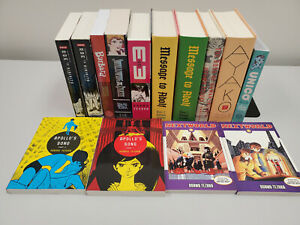Tezuka English Manga lot of 15 MW Unico Adolf Ayako Apollo etc w/Hardcovers VG