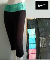 NEW NIKE Dri Fit Legend Tight Crops Capri Running Yoga Gym Pants Women S