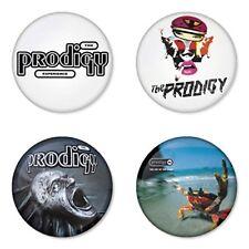 The Prodigy, D - 4 chapas, pin, badge, button