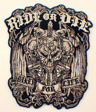 Ride Or Die Bike For Life Skull And Dagger Motorcycle Uniform Patch Biker
